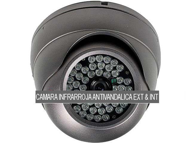Camara de vigilancia antivandalica infrarroja exterior inter for Camaras de vigilancia ocultas para exterior